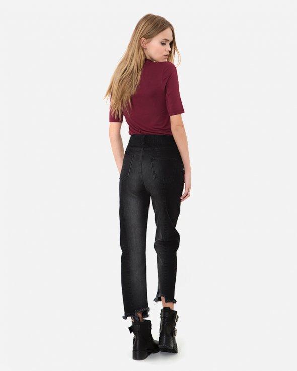 Moss Copenhagen - Belisi Jeans Black Washed