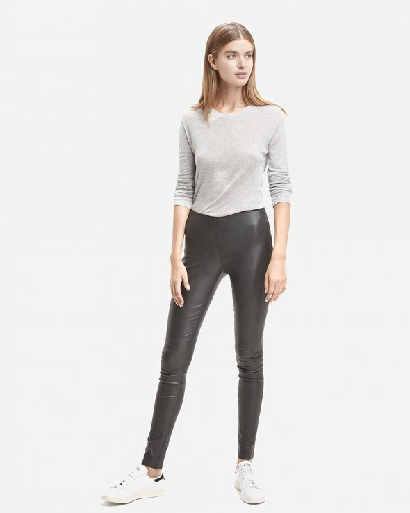 Moss Copenhagen - Clara Leather Leggins
