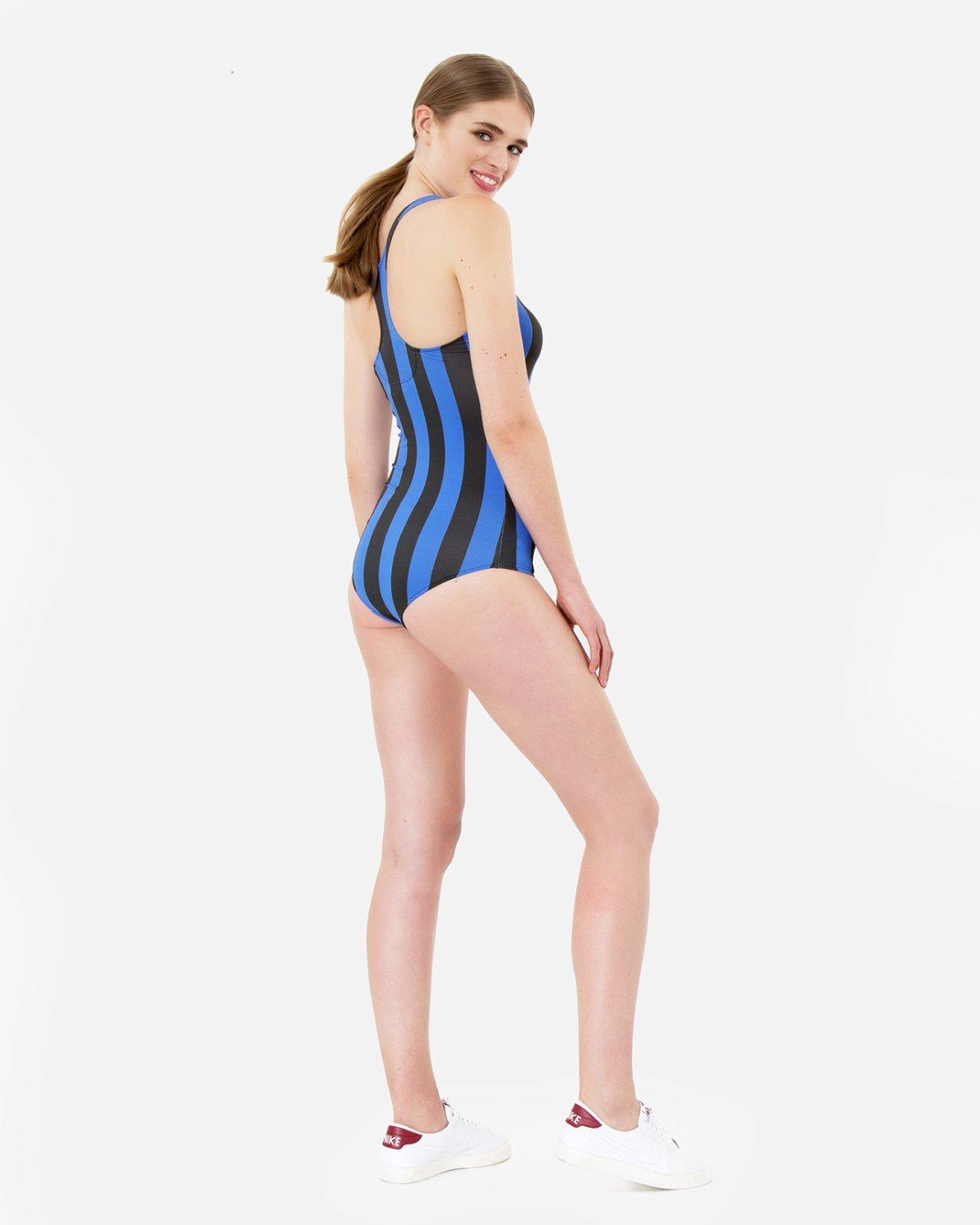 7e6ff41f576 OUTLET Clothing - Moss Copenhagen - Emmy Mai Striped Bodystocking
