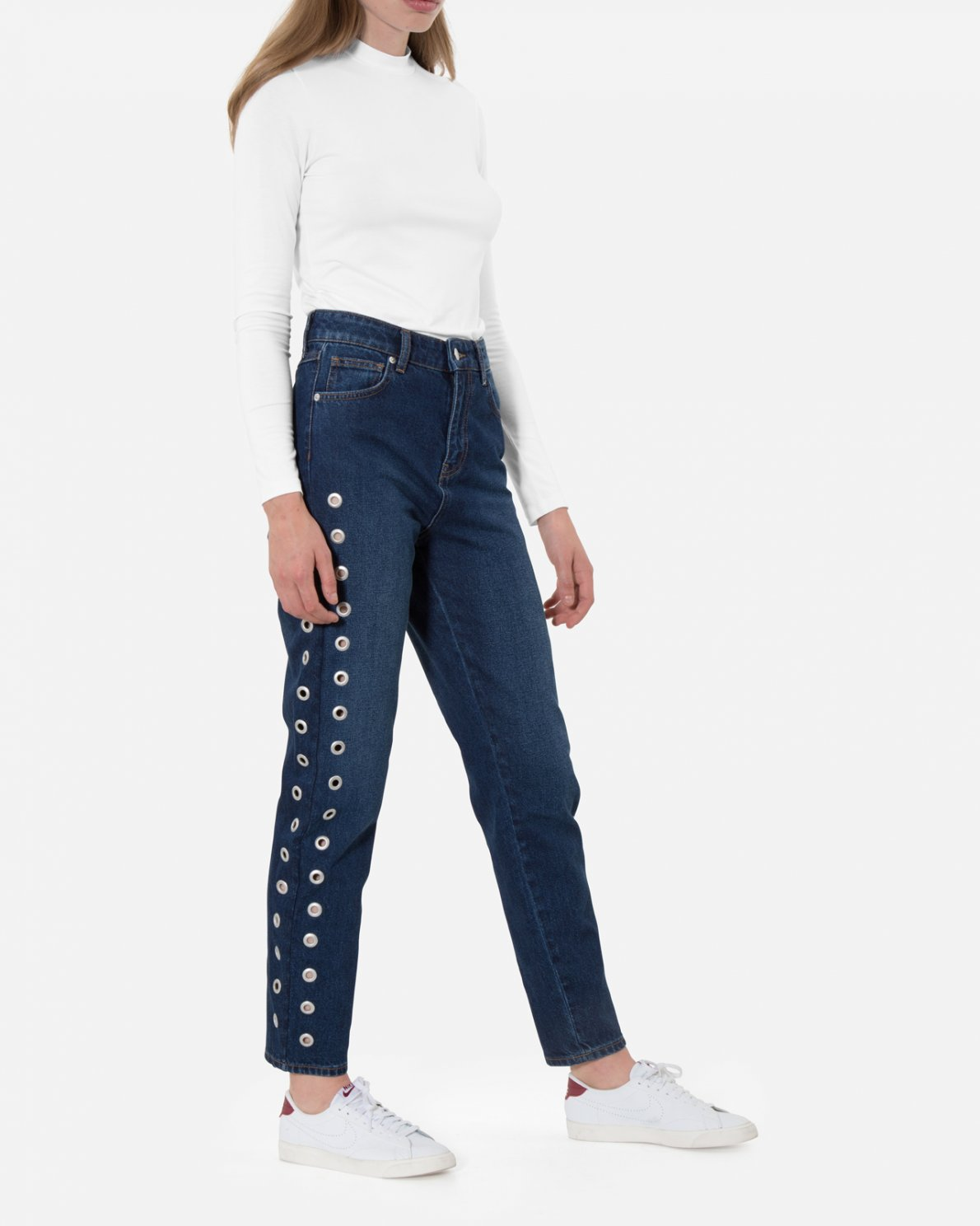 DENIM - Denim trousers Moss Copenhagen