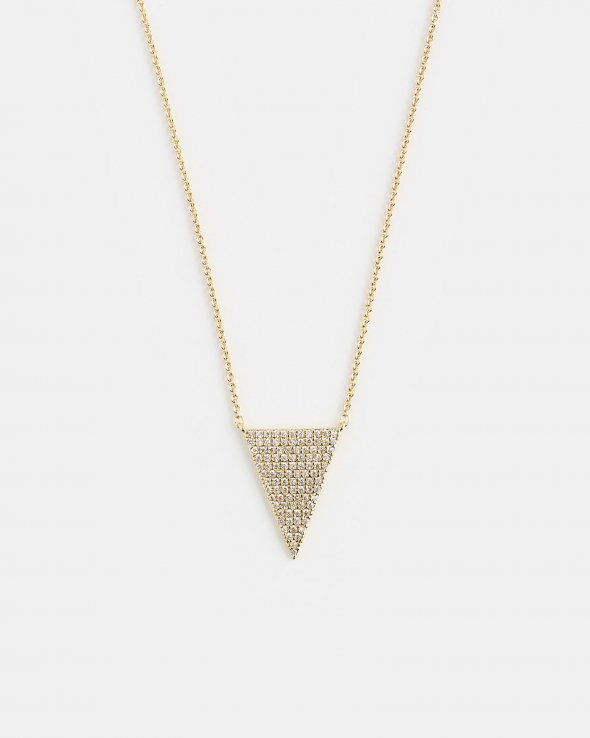 Moss Copenhagen - Triangle Necklace