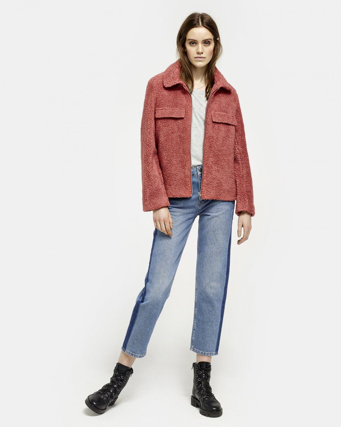 0493ef823ae OUTLET Clothing - Moss Copenhagen - Alira Teddy Jacket