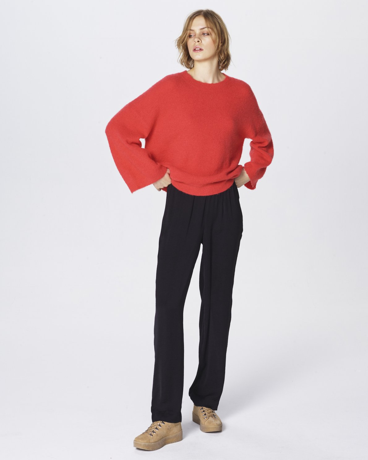 Pullover Melrose Knitwear Copenhagen Mohair Moss NX80PZnOkw
