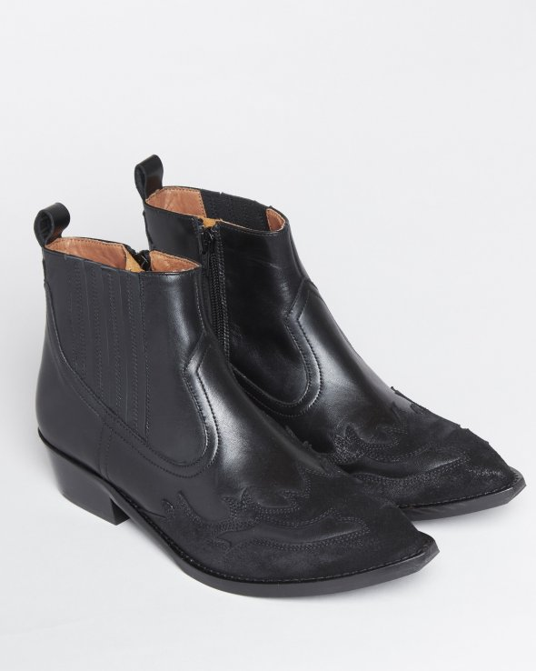 Moss Copenhagen - Jessia Leather Boots