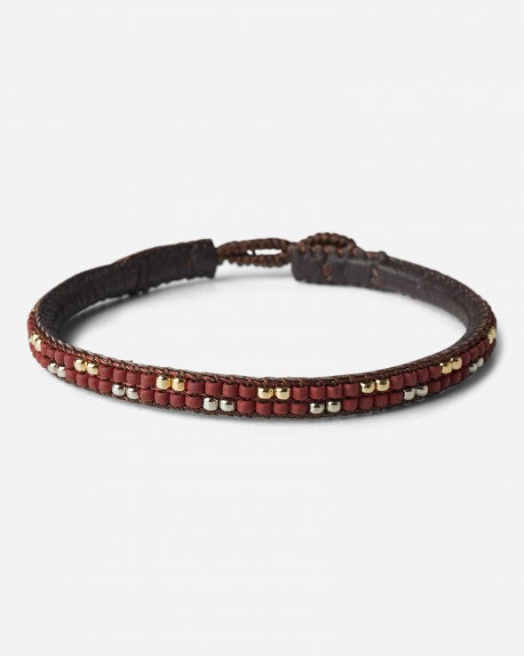 Moss Copenhagen - Lace Leather Bracelet