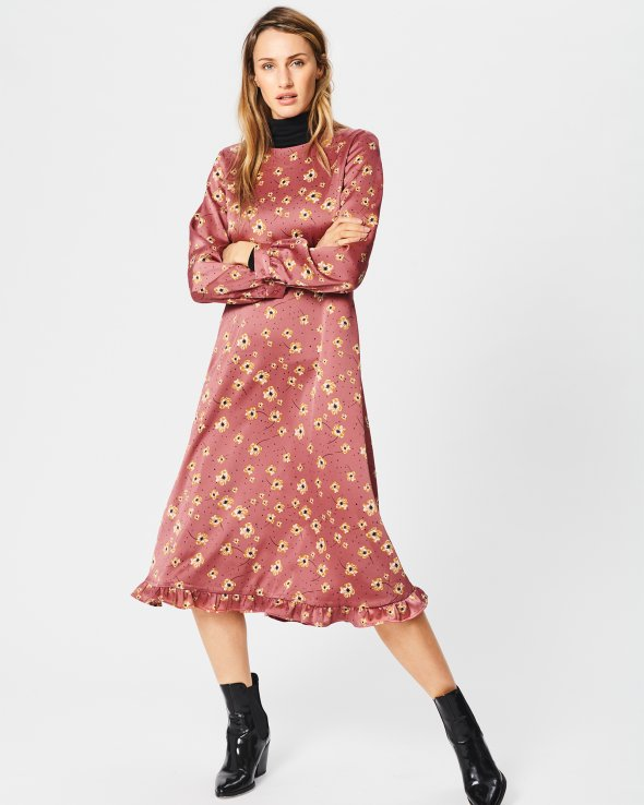Moss Copenhagen - Isla LS Dress Aop