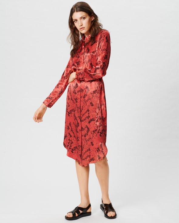 Moss Copenhagen - Lennox LS Dress Aop