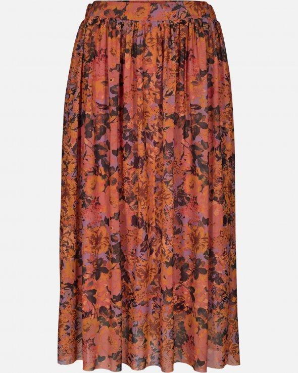 Moss Copenhagen - Amine Mesh Skirt AOP