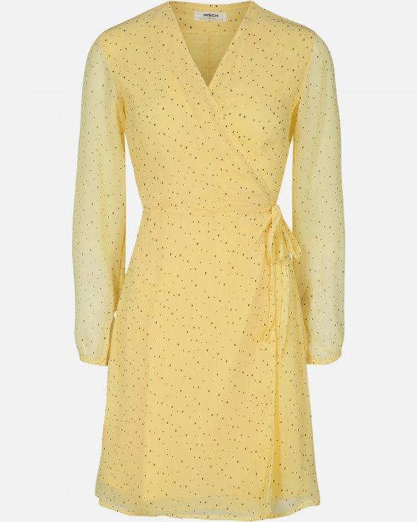 Moss Copenhagen - Brianna Rosalie Wrap Dress AOP