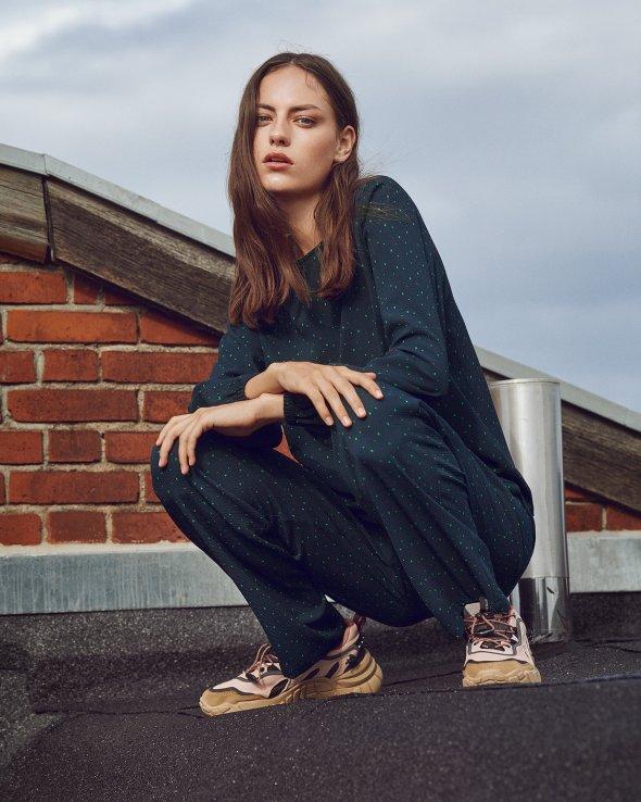 Moss Copenhagen - Janelle Dorena Pants AOP