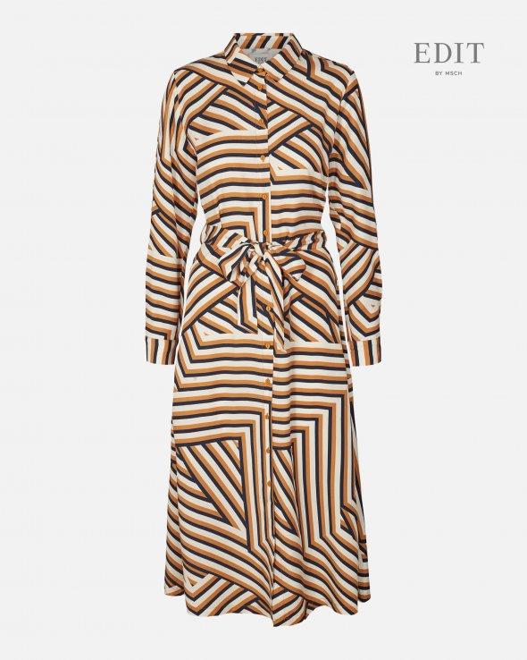 EDIT BY MSCH - Anaya Shirt Dress Aop