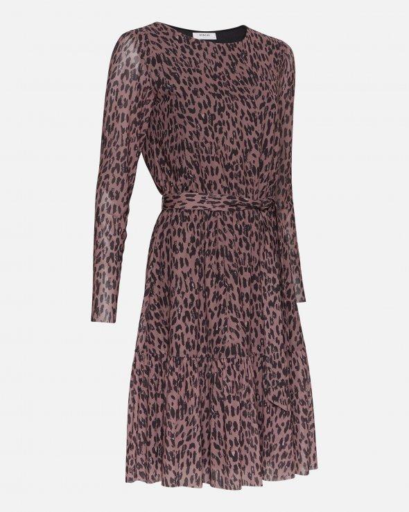 Moss Copenhagen - Jasmin Mesh Belt Dress Aop