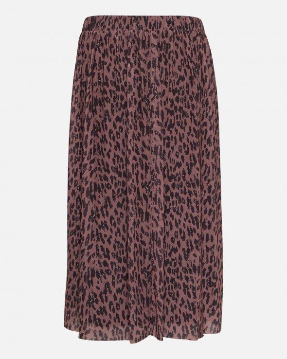 Moss Copenhagen - Jasmin Mesh Belt Skirt Aop