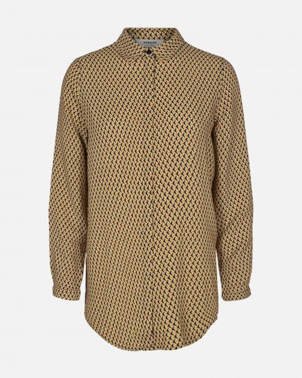 Moss Copenhagen - Blara Morocco LS Shirt AOP