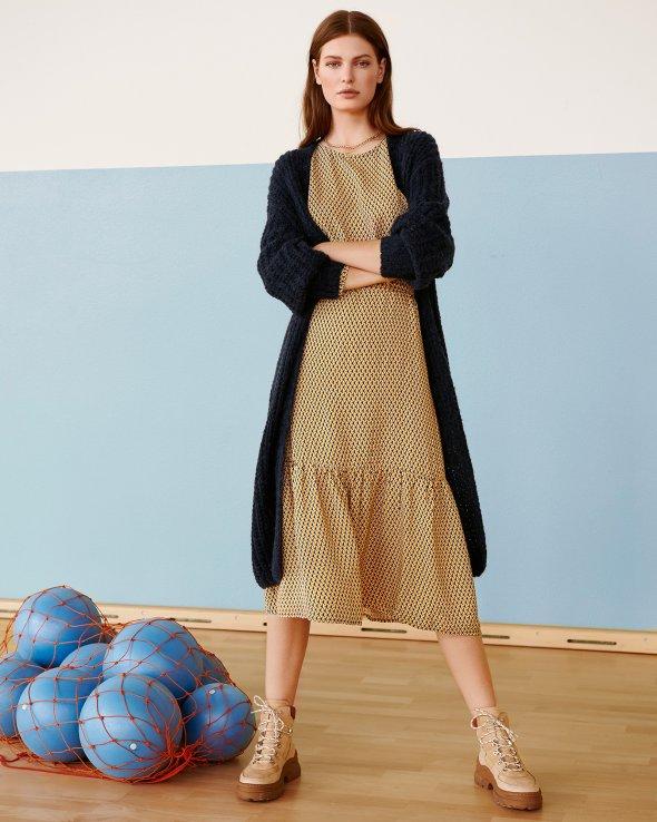 Moss Copenhagen - Charlotte Morocco LS Dress AOP