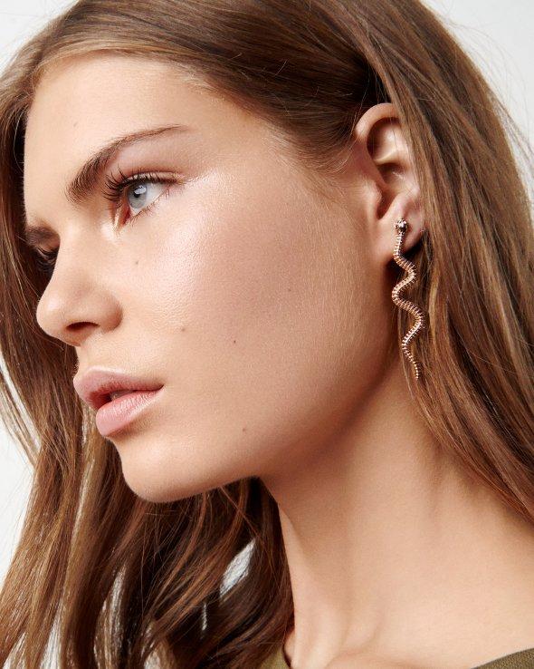 Moss Copenhagen - Large Snake Earring