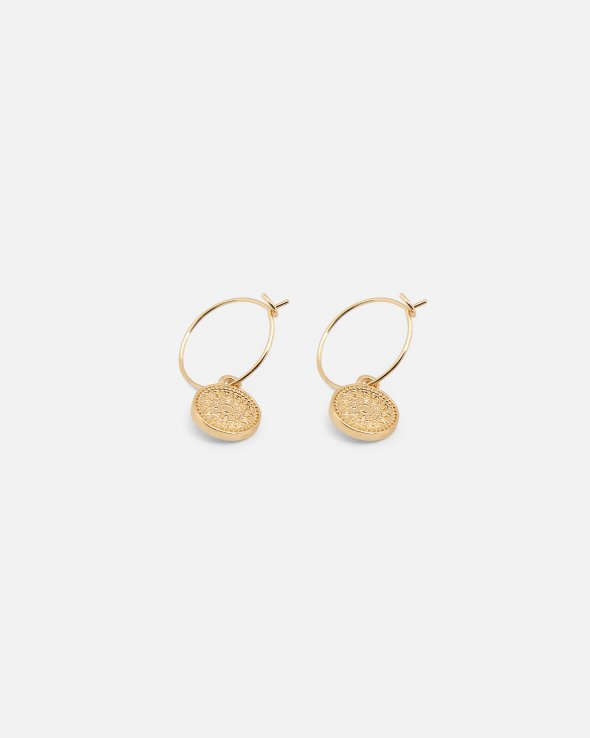 Moss Copenhagen - Sun Hoop Earrings