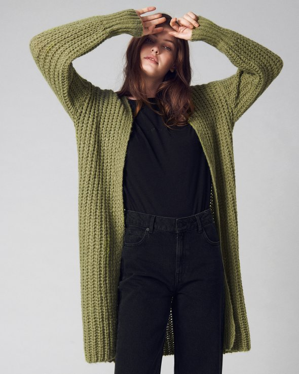 Moss Copenhagen - Heidi Mid Length Cardigan