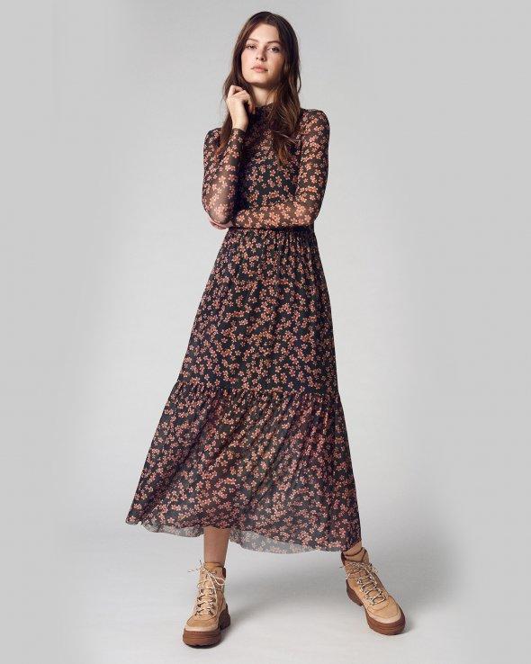 Moss Copenhagen - Haily Mesh Dress AOP
