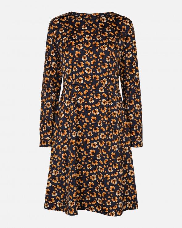 Moss Copenhagen - Isla Karma LS Short Dress AOP