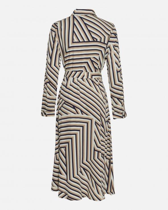 Moss Copenhagen - Avianna Raye LS Shirt Dress AOP