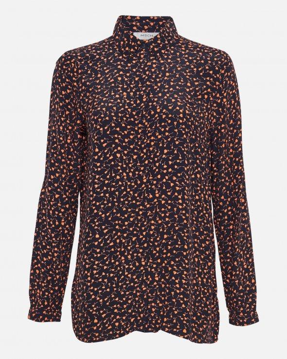 Moss Copenhagen - Milana Morocco LS Shirt AOP