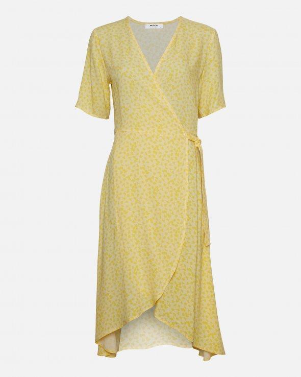 Moss Copenhagen - Isalie Turid SS Wrap Dress AOP