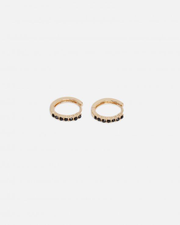 Moss Copenhagen - Color Stone Hoop Earring