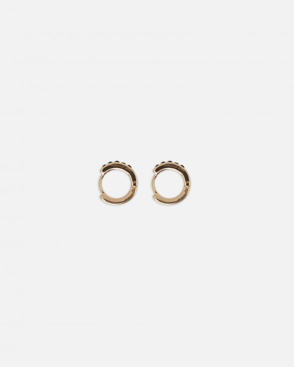 Moss Copenhagen - Color Stone Small Hoop Earring