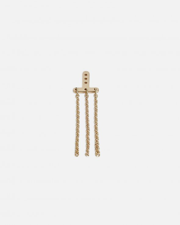 Moss Copenhagen - Chain L Behind-Ear Earring