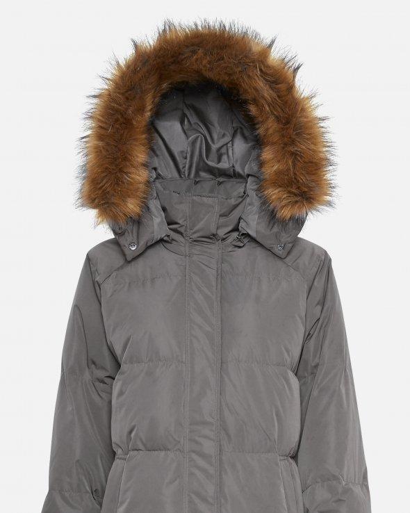 Moss Copenhagen - Skylar Down Hood Faux Fur Jacket
