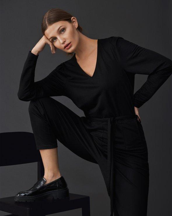 Moss Copenhagen - Kari Pethrine LS Ankle Jumpsuit