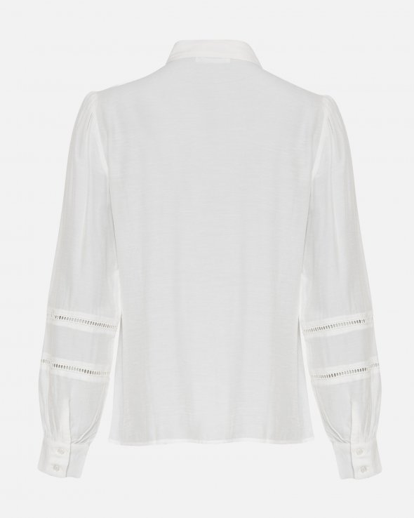 Moss Copenhagen - Ellene Melody LS Embroidery Shirt