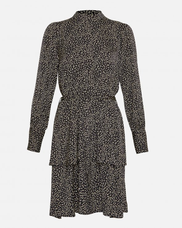 Moss Copenhagen - Willow Polysilk LS Dress AOP