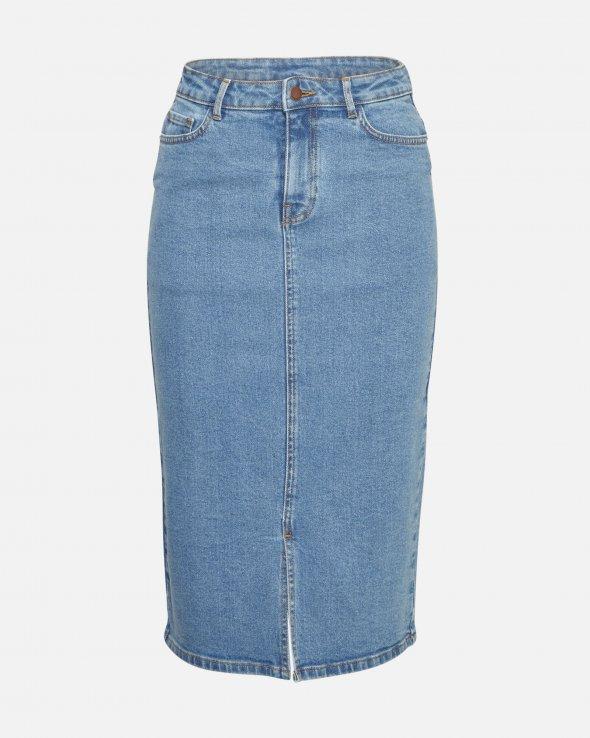 Moss Copenhagen - Calissa Rikka HW Denim Skirt