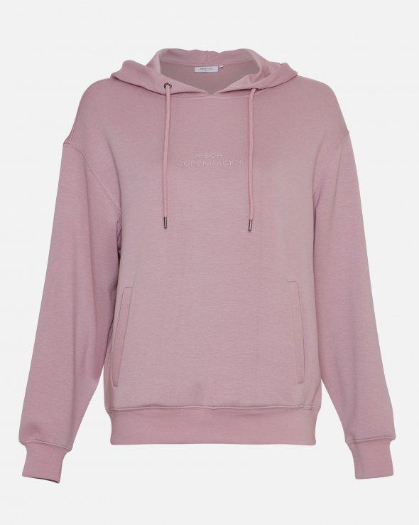 Moss Copenhagen - Ima DS Logo Hood Sweatshirt