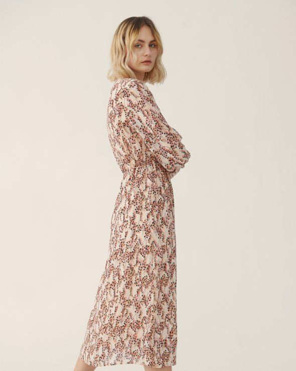 Moss Copenhagen - Camly Rikkelie LS Dress AOP