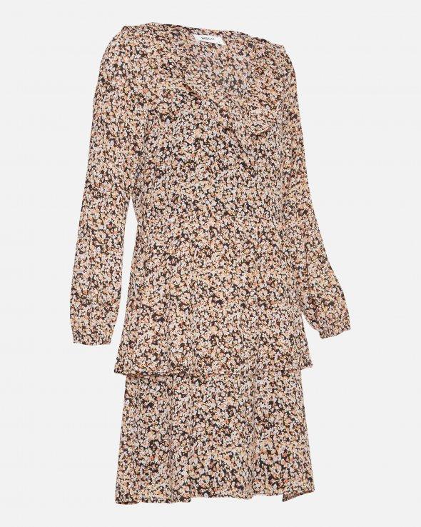 Moss Copenhagen - Merila Rikkelie LS Dress AOP