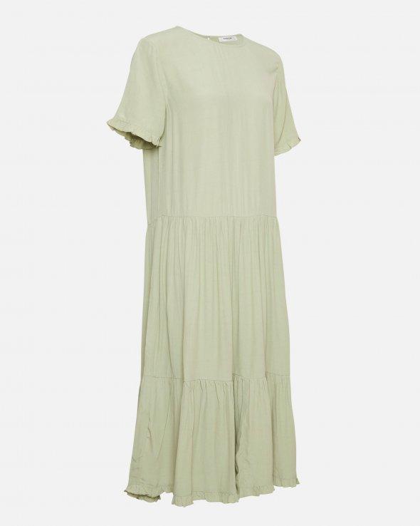 Moss Copenhagen - Pia Morocco SS Frill Dress