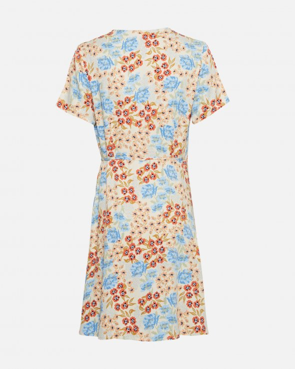 Moss Copenhagen - Ashlyn Raye Wrap Dress AOP