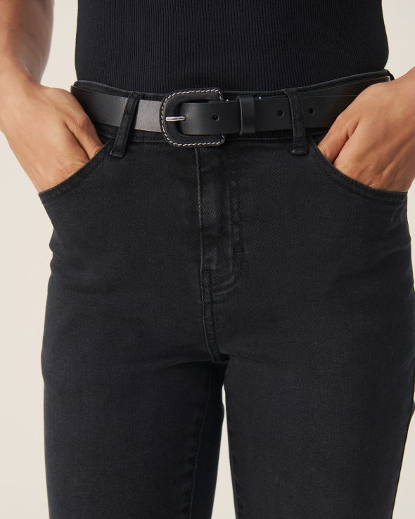 Moss Copenhagen - Buckle Leather Belt