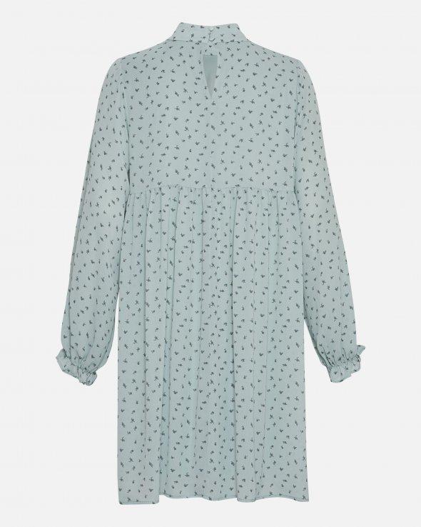 Moss Copenhagen - Ginna Rikkelie LS Short Dress AOP