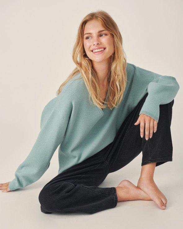 Moss Copenhagen - Sandrine Elleven V Neck Pullover
