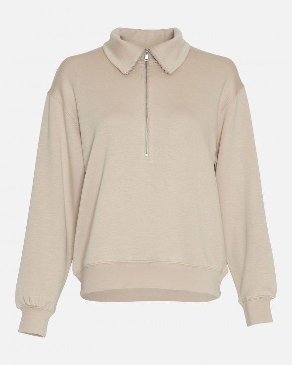 Moss Copenhagen - Ima Half Zip Sweatshirt